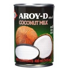 Coconut Milk 24x400ml - AROY-D