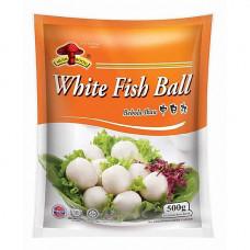 Mushroom Brand - White Fish Ball (Medium) 500g