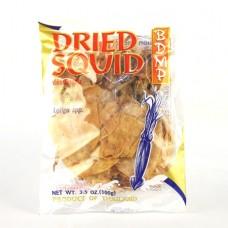 Bangkok Dried Marine Products (BDMP)- Dried Glassy Squid 100g