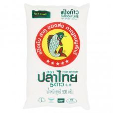 Fish Brand - Rough Tapioca Flake Flour 500g
