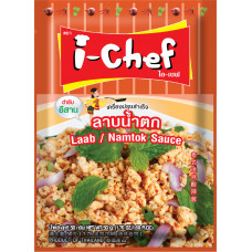 5 FOR £ 3 I-CHEF - Laab/Namtok Sauce 50g