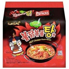 SAM YANG NOODLE(HOT CHICKEN STEW) 5X140G