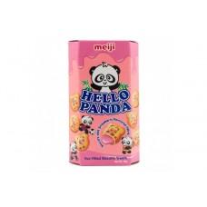 Meiji - Hello Panda Strawberry Flavoured Biscuits 50g