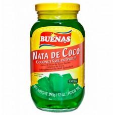 BUENAS NATA DE COCO COCONUT GEL-GREEN340