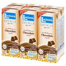 Lactasoy - Chocolate Soymilk (UHT) 36X250ml