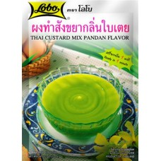 LOBO - Pandan Flavoured Thai Custard Mix 120g