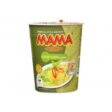 MAMA CUP - Green Curry Noodle 12X70g