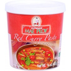 MAE PLOY - Red Curry Paste 400g