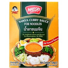 MAESRI Namya Curry Sauce For Noodles 120g