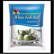 Mushroom Brand - White Fish Ball (Small) 500g