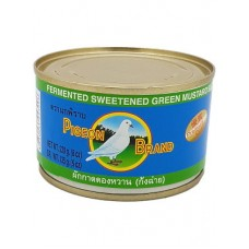Pigeon Fermented Sweetened Green Mustard Slices 230g