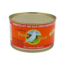 Pigeon Fermented Hot And Sour Mustard Green Tin 230g