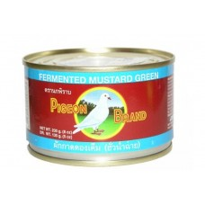 Pigeon Pickled Green Mustard Half In Soy Sauce 230g