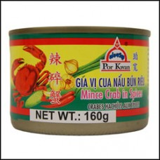 POR KWAN - Mince Crab In Spices 160g