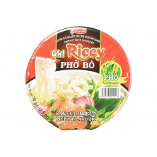 Oh Ricey Cup - Instant Rice Noodles Pho Ga Beef Flavour 70g