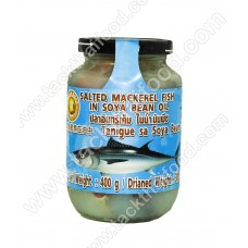 ASEAN SEAS - Salted Mackerel In Soya Bean Oil 400g
