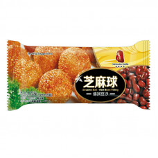 Red Bean Filled Sesame Balls 228g (10 Pieces) - FreshAsia